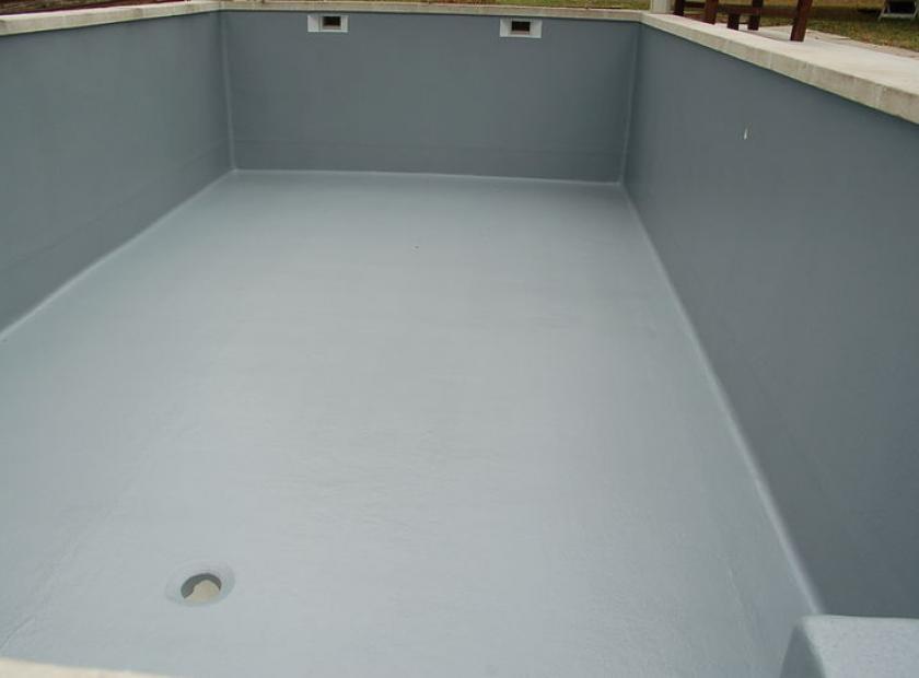 Revêtement polyester piscine