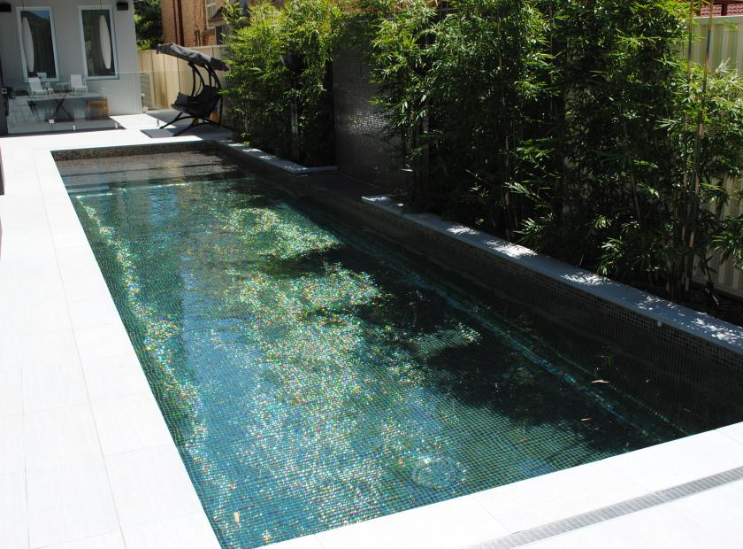 Revêtement piscine mosaïque