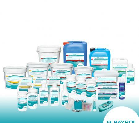 Produits de traitement piscine