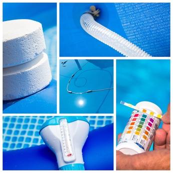 Traitement de l'eau de piscine - Maxi Piscines